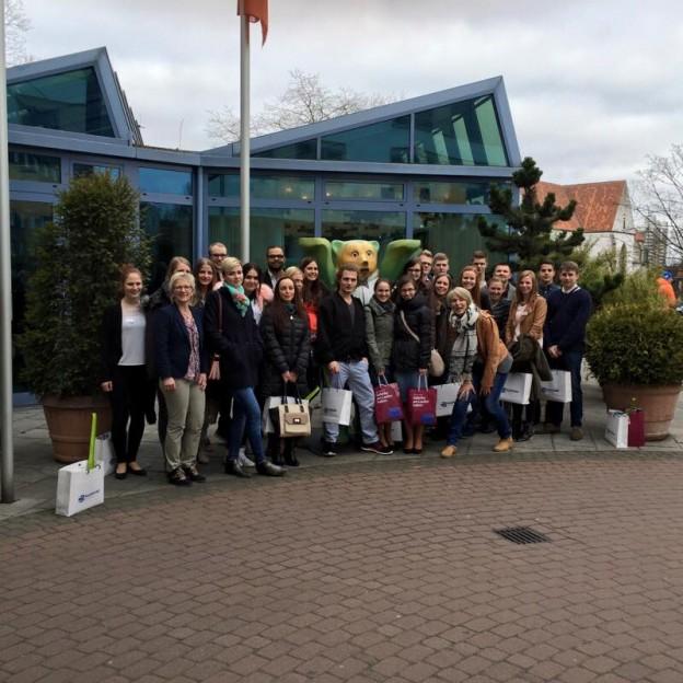 Zu Besuch im beim 9. Osnabrücker Symposium im Hotel Remarque