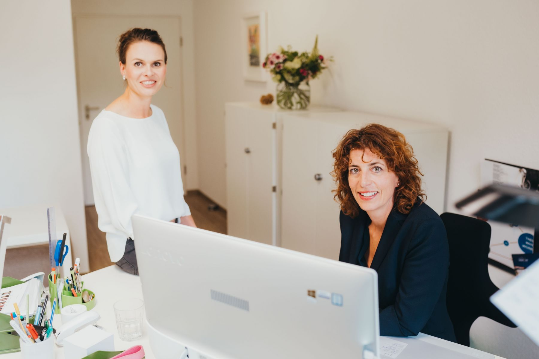 Alexandra Warschun und Carola Scheffold