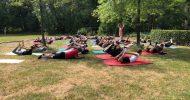 gemeinsames Yoga